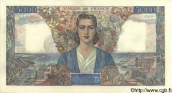5000 Francs EMPIRE FRANÇAIS FRANCE  1945 F.47.43 pr.SPL
