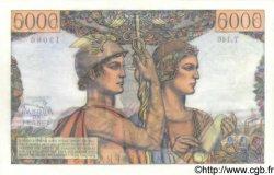 5000 Francs TERRE ET MER FRANCE  1956 F.48.11 pr.SPL