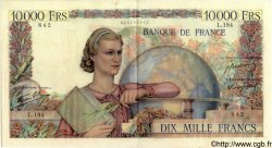 10000 Francs GÉNIE FRANÇAIS FRANCE  1946 F.50.09 pr.SUP