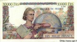 10000 Francs GÉNIE FRANÇAIS FRANCE  1946 F.50.13 TTB