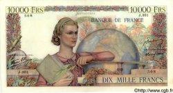 10000 Francs GÉNIE FRANÇAIS FRANCE  1946 F.50.13 SUP
