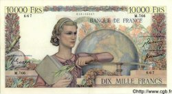 10000 Francs GÉNIE FRANÇAIS FRANCE  1950 F.50.32 SUP