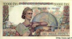 10000 Francs GÉNIE FRANÇAIS FRANCE  1950 F.50.33 SUP+