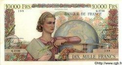 10000 Francs GÉNIE FRANÇAIS FRANCE  1952 F.50.58 pr.SPL