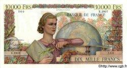 10000 Francs GÉNIE FRANÇAIS FRANCE  1952 F.50.60 pr.SPL