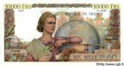 10000 Francs GÉNIE FRANÇAIS FRANCE  1953 F.50.64 SPL