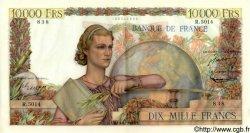 10000 Francs GÉNIE FRANÇAIS FRANCE  1953 F.50.66 pr.SPL