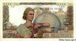 10000 Francs GÉNIE FRANÇAIS FRANCE  1954 F.50.70 TB