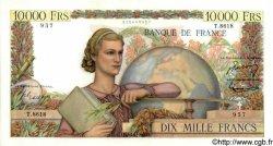 10000 Francs GÉNIE FRANÇAIS FRANCE  1955 F.50.74 pr.SPL
