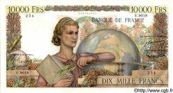 10000 Francs GÉNIE FRANÇAIS FRANCE  1955 F.50.75 SUP+