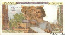 10000 Francs GÉNIE FRANÇAIS FRANCE  1956 F.50.80 TTB+