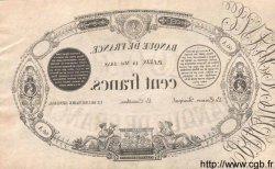 100 Francs 1848 définitif transposé FRANCE  1858 F.A25 pr.NEUF