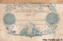 25 Francs CLERMONT FERRAND FRANCE  1870 F.A44.01 TB