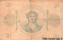 20 Francs 1871 FRANCE  1873 F.A46.04 pr.TTB