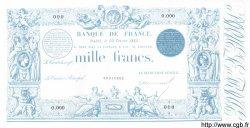 1000 Francs 1862 indices noirs modifié FRANCE  1885 F.A50.00 NEUF