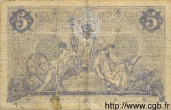 5 Francs NOIR FRANCE  1872 F.01.02 pr.TB