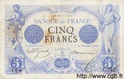 5 Francs NOIR FRANCE  1872 F.01.08 pr.TB