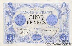 5 Francs NOIR FRANCE  1872 F.01.11 TB+