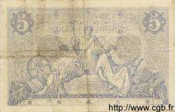 5 Francs NOIR FRANCE  1873 F.01.14 pr.TTB