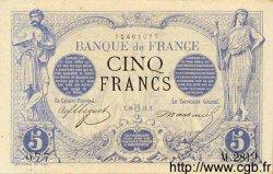 5 Francs NOIR FRANCE  1873 F.01.20 SUP+ à SPL