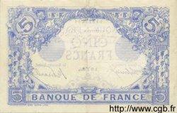 5 Francs BLEU FRANCE  1912 F.02.03 TTB