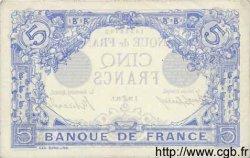 5 Francs BLEU FRANCE  1912 F.02.06 SUP+