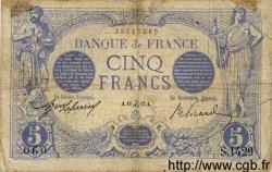 5 Francs BLEU FRANCE  1912 F.02.12 B+