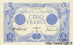 5 Francs BLEU FRANCE  1915 F.02.24 SPL