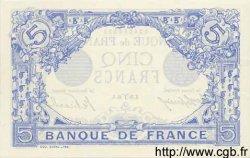 5 Francs BLEU FRANCE  1915 F.02.25 pr.NEUF
