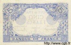 5 Francs BLEU FRANCE  1915 F.02.27 TTB+