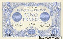 5 Francs BLEU FRANCE  1915 F.02.28 SPL