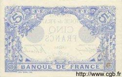 5 Francs BLEU FRANCE  1915 F.02.29 TTB