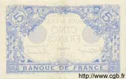 5 Francs BLEU FRANCE  1915 F.02.31 SUP