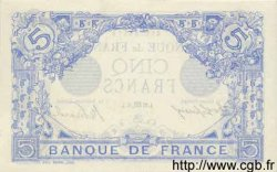 5 Francs BLEU FRANCE  1915 F.02.32 SPL+
