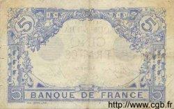 5 Francs BLEU FRANCE  1916 F.02.35 TB+