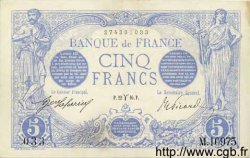 5 Francs BLEU FRANCE  1916 F.02.37 SUP+
