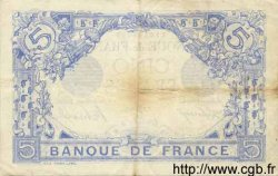 5 Francs BLEU FRANCE  1916 F.02.39 TTB