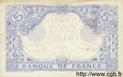 5 Francs BLEU FRANCE  1916 F.02.40 TTB+