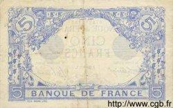 5 Francs BLEU FRANCE  1916 F.02.45 TTB