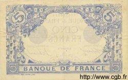 5 Francs BLEU FRANCE  1917 F.02.47 SUP