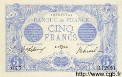 5 Francs BLEU lion inversé FRANCE  1916 F.02bis.04 pr.SPL