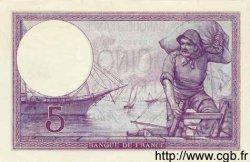 5 Francs VIOLET FRANCE  1917 F.03.00 pr.NEUF