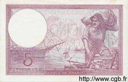 5 Francs VIOLET modifié FRANCE  1939 F.04.05 pr.NEUF