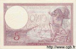 5 Francs VIOLET modifié FRANCE  1939 F.04.10 pr.NEUF