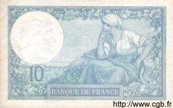 10 Francs MINERVE FRANCE  1916 F.06.01 SPL