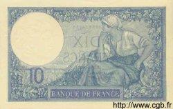 10 Francs MINERVE FRANCE  1926 F.06.10 pr.SPL