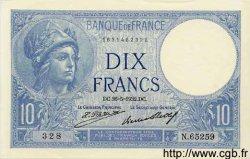 10 Francs MINERVE FRANCE  1932 F.06.16 NEUF