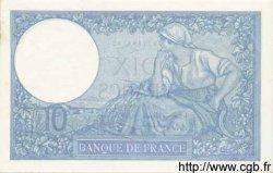 10 Francs MINERVE modifié FRANCE  1939 F.07.14 SPL
