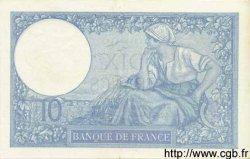 10 Francs MINERVE modifié FRANCE  1941 F.07.28 pr.SPL