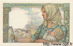 10 Francs MINEUR FRANCE  1942 F.08.03 SUP+